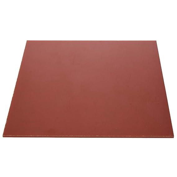 New 1pcs Bakelite Phenolic Flat Plate Sheet 3mm x 200mm x 200mm