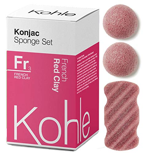 French Clay Konjac Sponge Pack