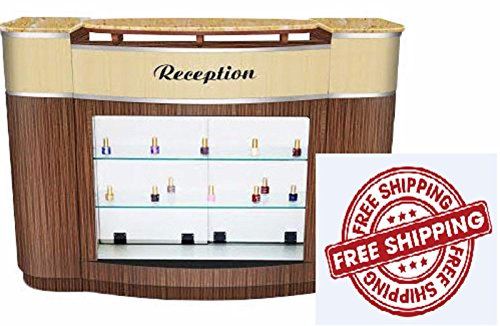 Reception Desk Verona II for Nail, Beauty, Barber or Styl...