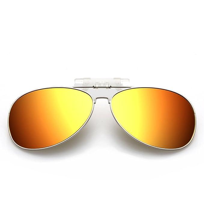 Gafas de sol gafas-clip/Ojos de miopía/Gafas polarizadas especiales/Espejo