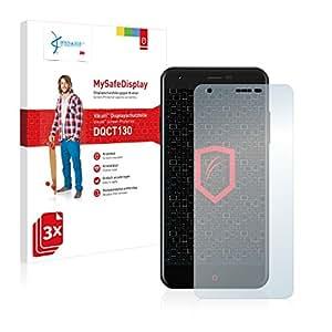 3x Vikuiti MySafeDisplay Protector de Pantalla DQCT130 de 3M para Zopo Touch ZP530