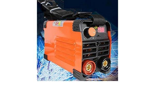 MXBAOHENG Handheld Mini eléctrico Soldador 220 V 20 - 200 A Soldadura máquina: Amazon.es: Hogar