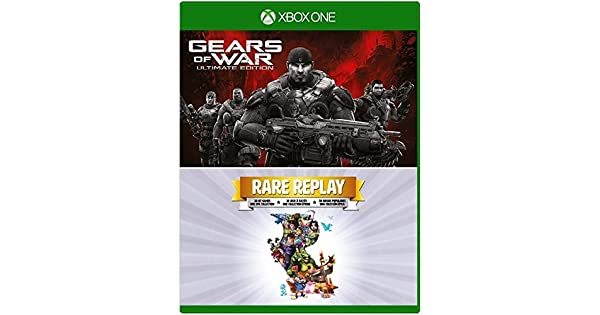 Gears of War - Ultimate Edition and Rare Replay - Xbox One (2 Pack ...