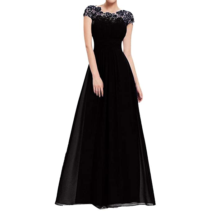 Vestidos de Fiesta Mujer Largos Vestido de Noche POLP Talla Grande Vestido Encaje Mujer Vintage Vestidos