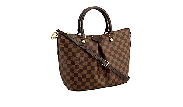 bce450092bc4 Louis Vuitton Damier Canvas Siena PM Crossbody Shoulder Handbag N41545 Made  in France  Handbags  Amazon.com