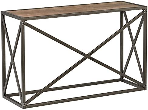 Groovy Stone Beam Roland Metal X Frame Console Hallway Table 24 W Pine Andrewgaddart Wooden Chair Designs For Living Room Andrewgaddartcom