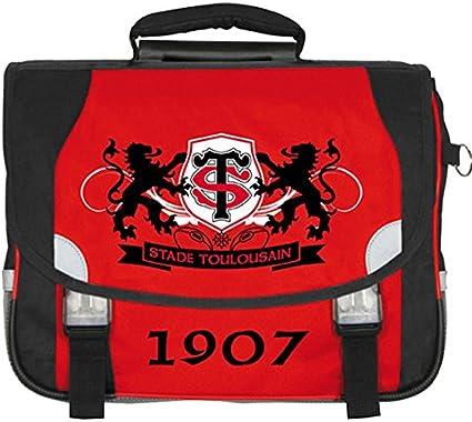 Rugby Top 14 Collection officielle STADE TOULOUSAIN Cartable scolaire /à roulettes TOULOUSE