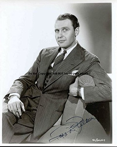 Ralph Bellamy Autographed Preprint Signed Photo - Bellamy Photo