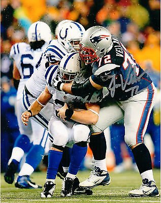 - Joe Vellano New England Patriots Signed Autographed Tackle 8x10 Photo