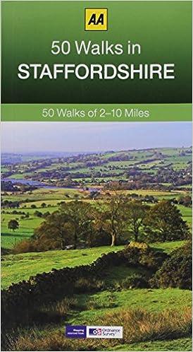 50 Walks in Staffordshire (AA 50 Walks series)