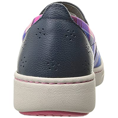 Dansko Women's Belle Blue Madras Canvas Fashion Sneaker | Fashion Sneakers