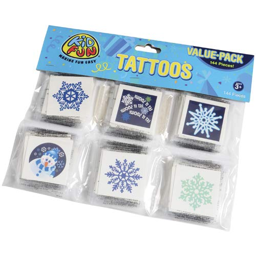 DollarItemDirect Winter Tattoos , Sold by 15 GROSSES