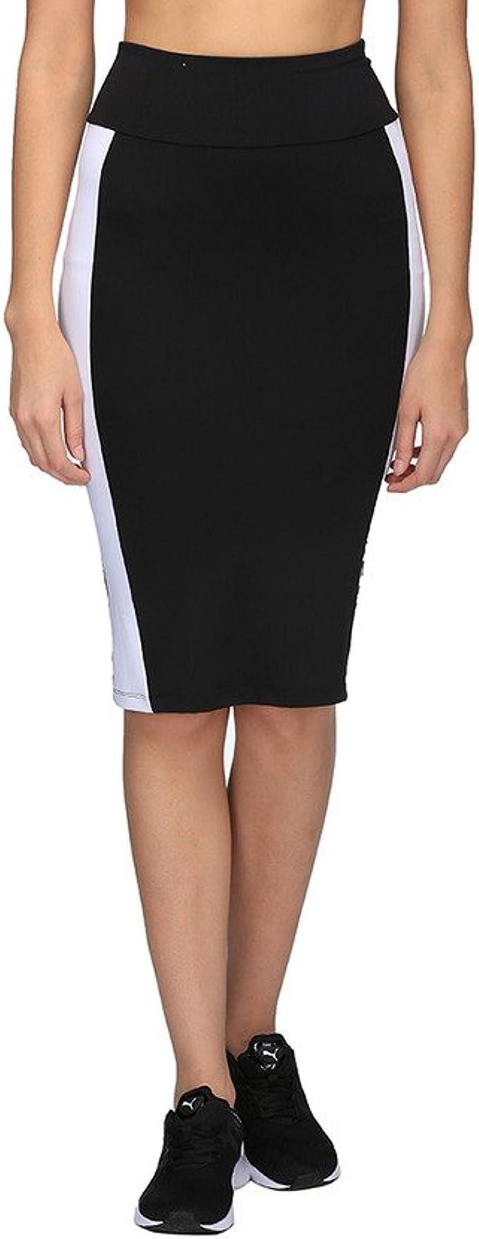 PUMA Archive Logo Pencil Skirt Falda, Mujer: Amazon.es: Ropa y ...