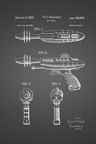 JP London SPMURJSGLT09 Future Star Phaser Ray Gun Alien T...