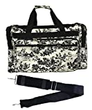 22-inch Travel Duffle Bag | Multiple Designs to Choose From | Perfect Travel Size Duffel Bag by Unique Traveler (French Country Toile)