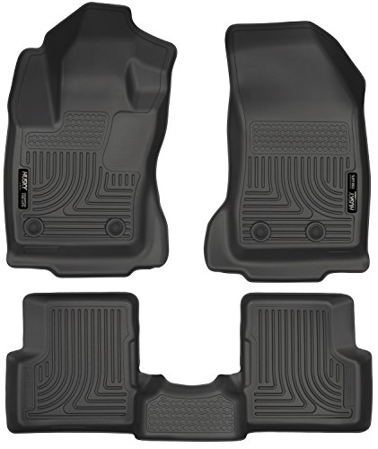Husky Liners Front & 2nd Seat Floor Liners Fits 15-16 Renegade