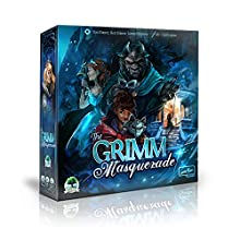 The Grimm Masquerade | A Fairytale Inspired Strategy Board Game of Social Deduction | Fun for Kids, Teens and Adults, Great Replay Value, 2-5 Players, 20-40 minutes, Ages 8 and Up
