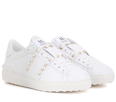 73754ae281c60 Valentino Garavani fashien Sneakers Rockstud White (36 (6 B(M) US)