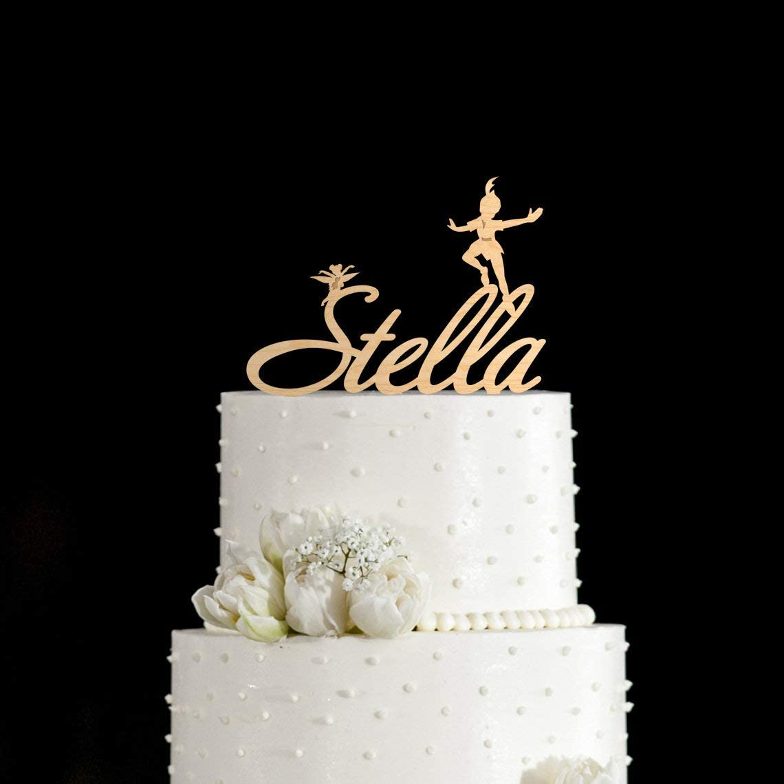 Phenomenal Birthday Cake Topper Topper Peter Pan Peter Pan Birthday Peter Pan Personalised Birthday Cards Paralily Jamesorg