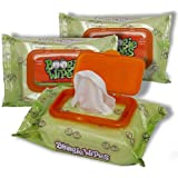 Boogie Wipes Gentle Saline Nose Wipes Original Fresh Scent - Set of 3 (90 Wipes Total)