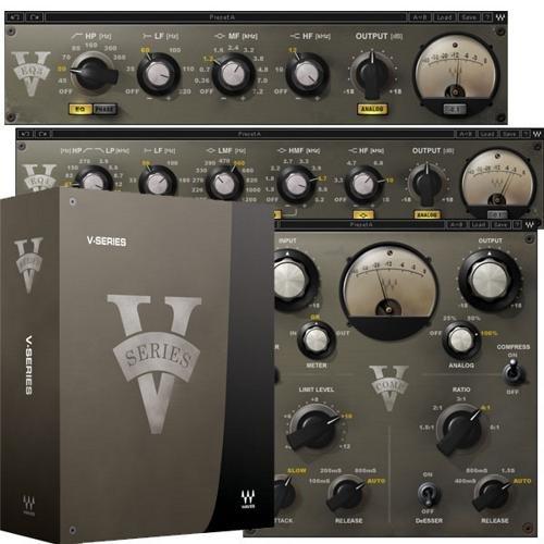 Tdm Plug In Bundle - Waves V Series Audio Plug In Bundle (Pro Tools TDM)