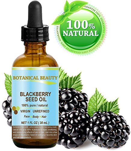 Botanical Beauty Natural Blackberry Seed Oil, 1 fl. oz. / 30