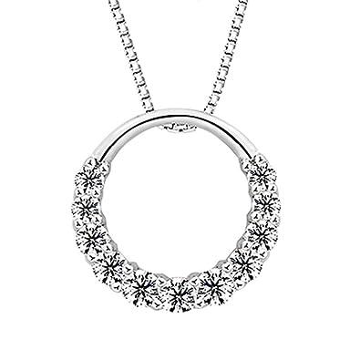 pendentif bague diamant
