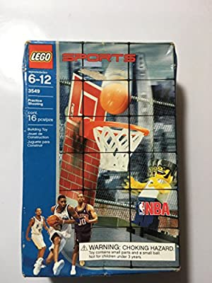LEGO Sports NBA Practice Shooting (3549) by LEGO: Amazon.es ...