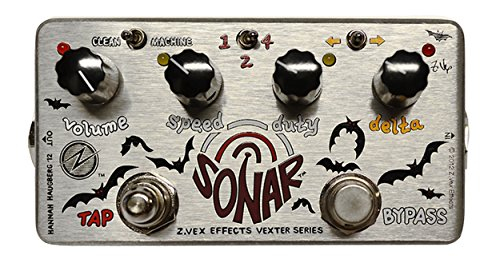 ZVEX Effects Sonar Vexter Series Tremolo Guitar Pedal