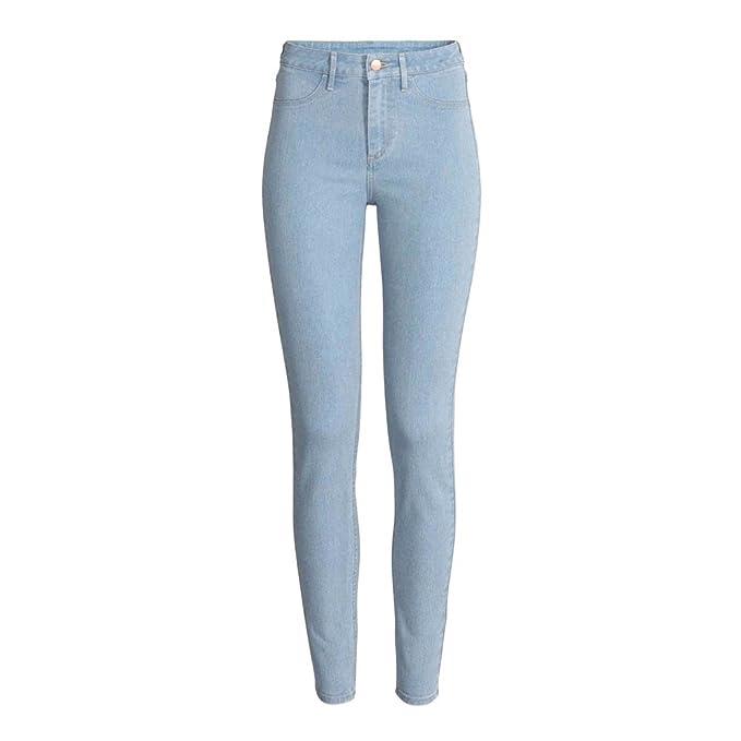 aa6ebcc8 Fatal Fashion New Ex-Zara Woman Sand Wash Denim Spandex Jeans Trouser Plus  Size 8-18: Amazon.co.uk: Clothing