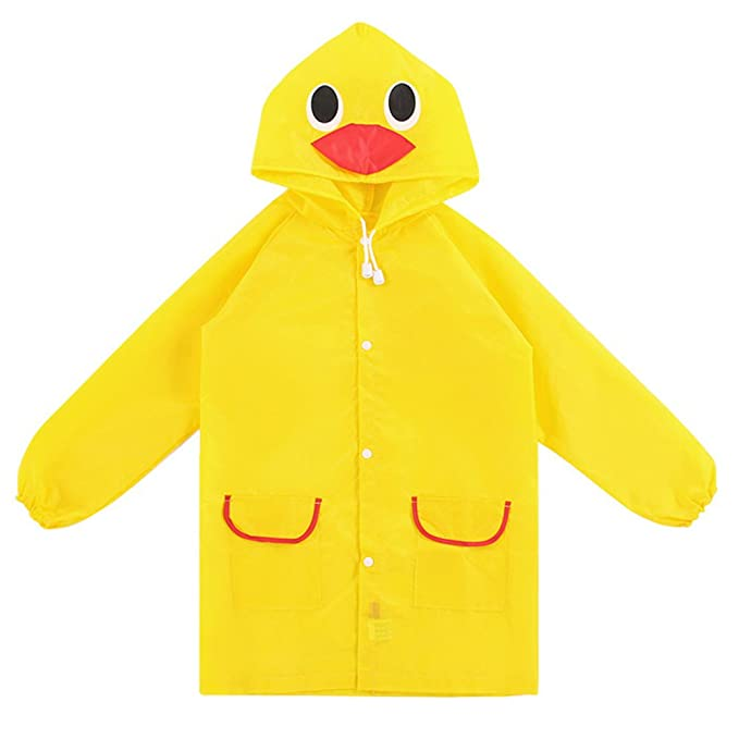 MyLifeUNIT - Chaqueta Impermeable - para bebé niño Amarillo Amarillo Talla única: Amazon.es: Ropa y accesorios