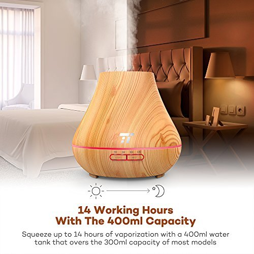 TaoTronics Essential Oil Diffuser, 400ml