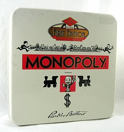 Monopoly 1935 First Edition Reproduction Tin