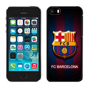 Barcelona Black Abstract Design Custom iPhone 5C Case