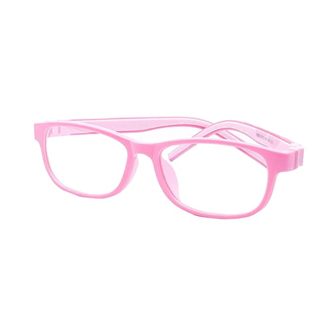 93c4a951a1 Yefree Gafas de chica chico Gafas para niños Gafas cuadradas de silicona  Lindas gafas Anteojos miopes Gafas de estudiante: Amazon.es: Ropa y  accesorios