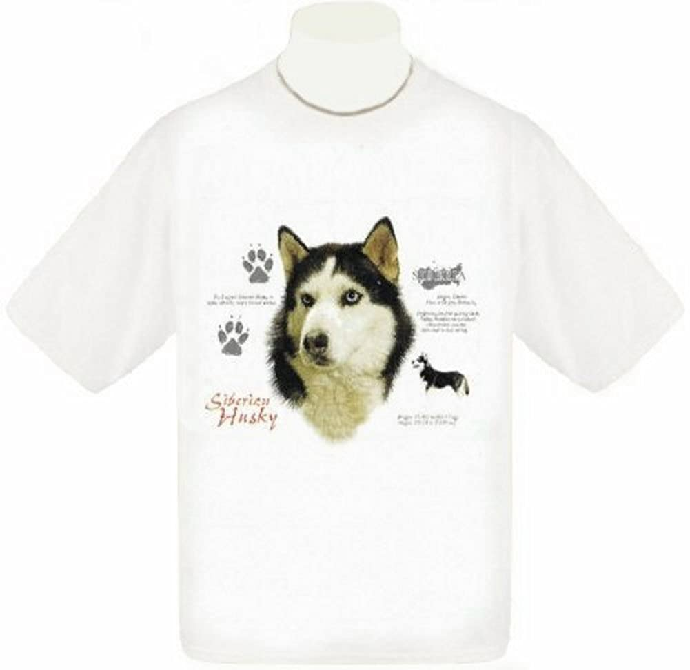amazon com siberian husky t shirt clothing