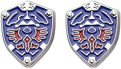 Patch Nation Legend of Zelda Triforce Shield - Gemelos para cosplay: Amazon.es: Deportes y aire libre