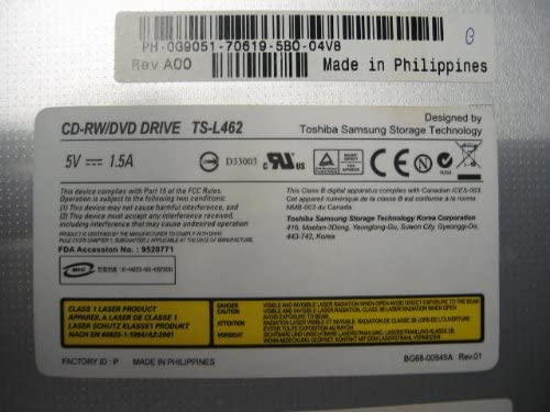 DELL Inspiron 6000 CD-RW//DVD Drive TS-L462