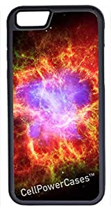 iPhone 6 Case, CellPowerCasesTM Space Crab Nebula -\xa0iPhone 6 Plus (5.5) Black Case [iPhone 6 (5.5) V1 Black]