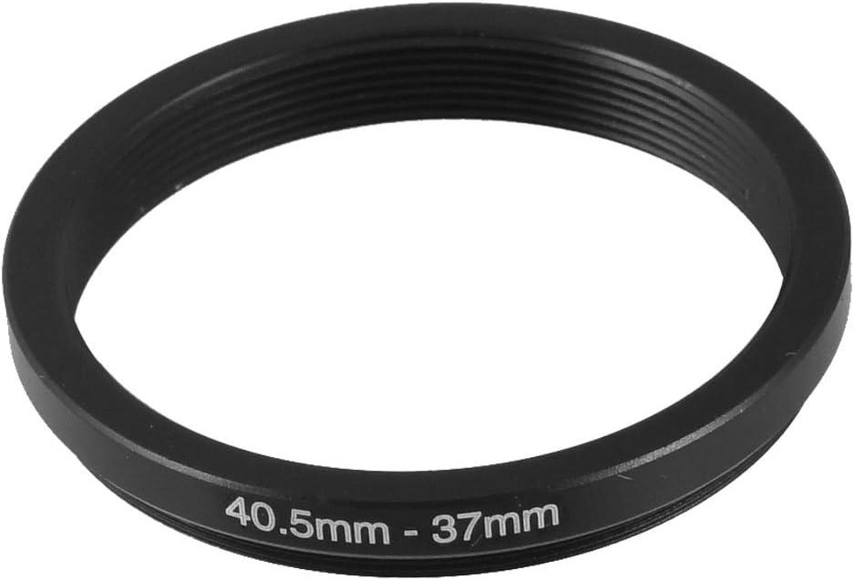 uxcell Camera Parts 40.5mm-37mm Lens Filter Ring Adapter Black