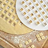 Norpro 3258 Lattice Pie Top Cutter, 10-Inch, White
