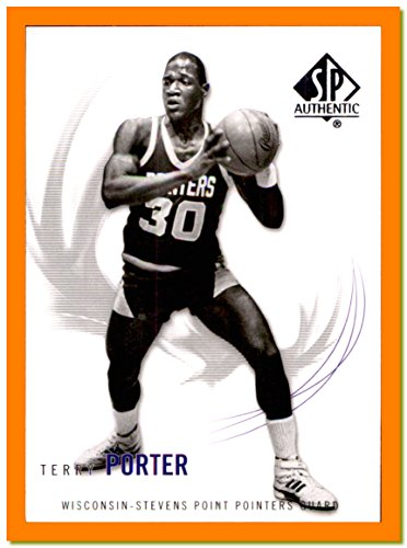 - 2010-11 SP Authentic #59 Terry Porter WISCONSIN-STEVENS POINT POINTERS head coach University of Portland