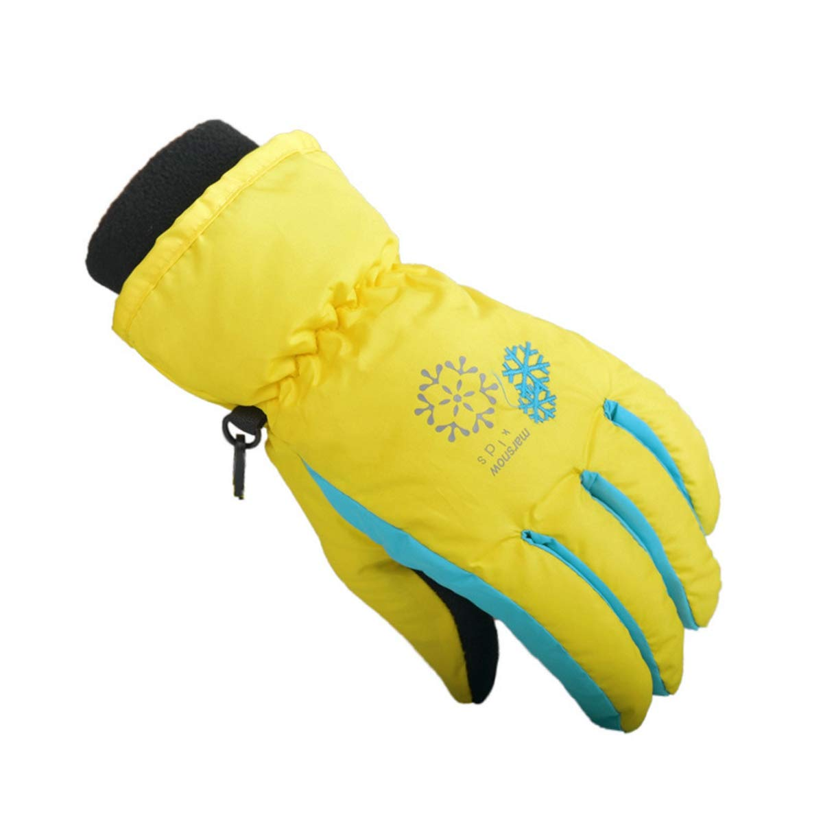 Child Ski Gloves Windproof Waterproof Warm Snowboard Gloves Kid Skiing Gloves