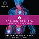 Luminas Pain Relief Patch (for Arthritis, Back Pain, Hip Pain, Neck Pain, Headaches, Shoulder, Knee, Menstrual Cramps, Tendonitis, Foot Pain, and other common aches and pains)