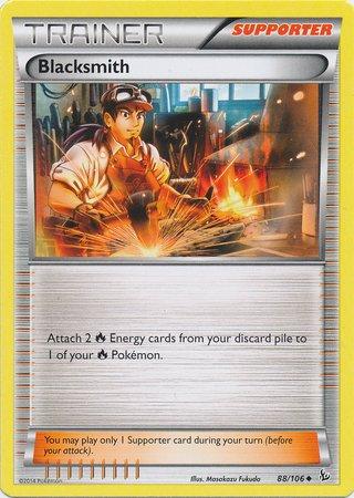 Blacksmith Single - Pokemon - Blacksmith (88) - XY Flashfire