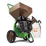Earthquake TAZZ 18493 Heavy Duty 212cc Gas Powered 4 Cycle Viper Engine 3:1 Capable Multi-Function Wood Chipper Shredder 3