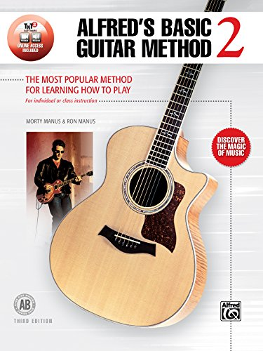 Alfred's Basic Guitar Method, Bk 2: The Most Popular Method for Learning How to Play, Book & Online Audio (Alfred's Basic Guitar Library)