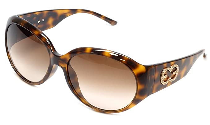79dfcadab18 Escada Designer Sunglasses SES099S-9AJS in Havana 61mm  Amazon.co.uk   Clothing