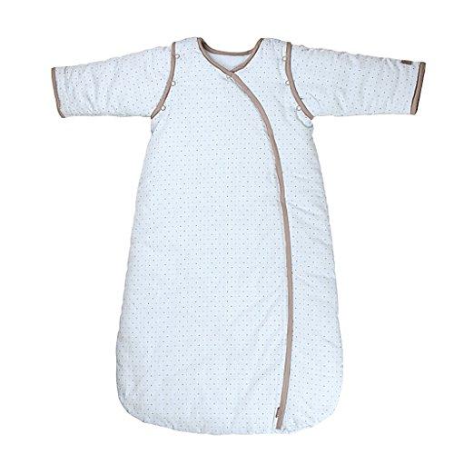 Saco de Dormir Todo el año 3 Tog Mangas Extraíbles - Recién nacido Sacos para dormir 0-12 Meses,Rosado