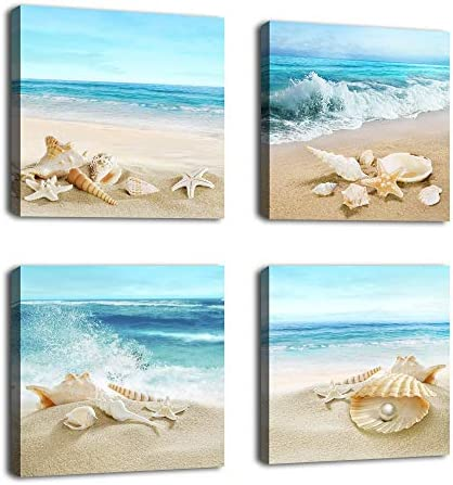 Seashell Starfish Turquoise Contemporary Decoration product image
